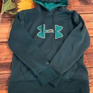 Under Armour Storm M Medium hoodie sweatshirt EUC